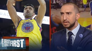 Nick Wright explains why the NBA has a 'Zaza problem' | FIRST THINGS FIRST
