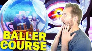 How to Complete Hellraisergaming's Super Baller Course Fortnite Creative