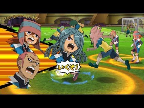 Inazuma Eleven GO Strikers 2013 Dark Emperors vs Raimon 2 Wii (Dolphin Emulator) (видео)