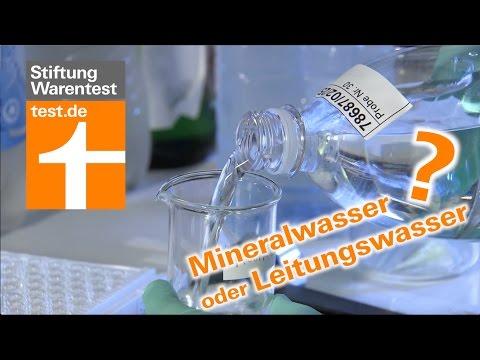 Leitungswasser & Mineralwasser im Vergleich (Test S ...