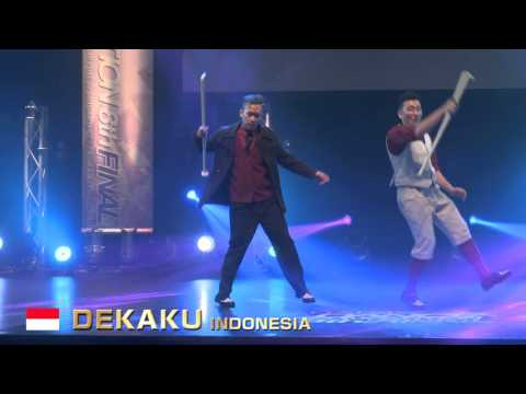 【GDC 8th】GATSBY DANCE COMPETITION 2015-2016:ASIA GRANDFINAL/DEKAKU【INDONESIA】