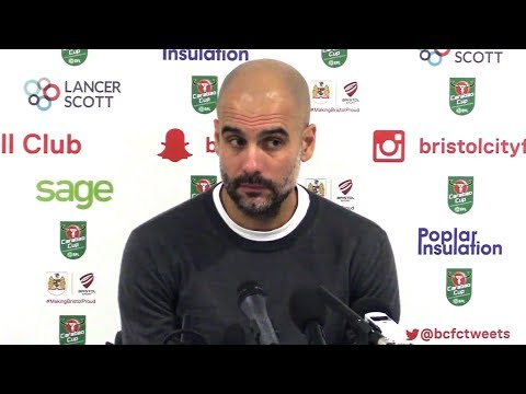 Bristol City 2-3 Manchester City (Agg 3-5) - Pep Guardiola Full Post Match Press Conference