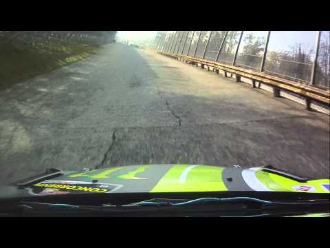 valentino rossi on board ford fiesta rs wrc al monza rally 2011