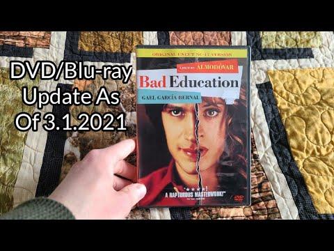 DVD/Blu-ray Update As Of 3.1.2021