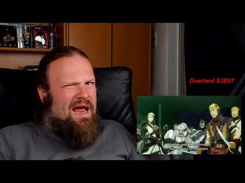 Overlord Season 3 Episode 7 Reaction - Canary in the mine, cats and mice and a Hamuske