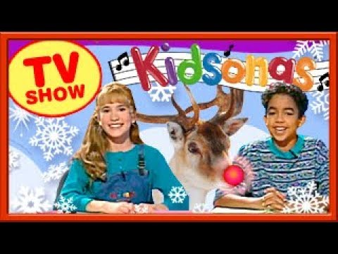 best kids christmas songs special 50 minutes rudolph frosty santa kidsongs - Kidsongs We Wish You A Merry Christmas