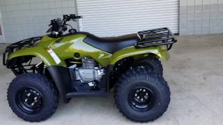6. 2016 Honda Recon 250 ATV Walk-Around Video | TRX250TM FourTrax Four Wheeler
