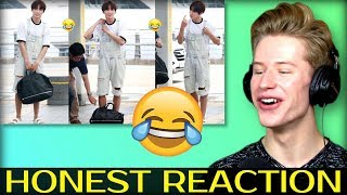 HONEST REACTION to BTS TRY NOT TO LAUGH CHALLENGE Pt.4