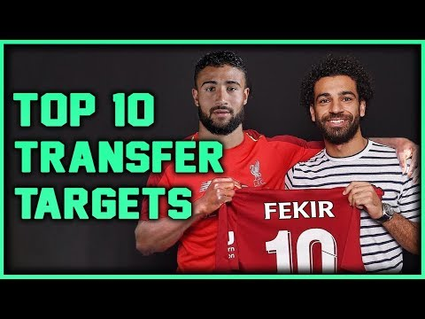 LIVERPOOL Transfer Targets 2019 (TOP 10) Transfer News ft. Dybala & Fekir