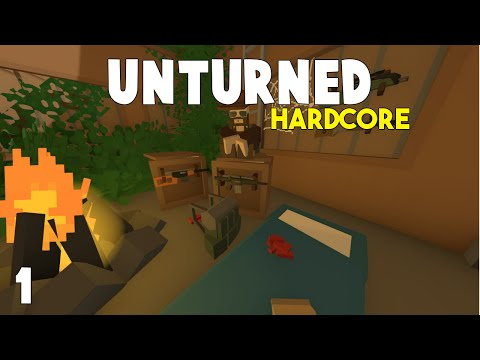 Unturned: Hardcore Survival | Barely Surviving | Part 1