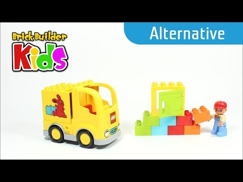 Vidéo LEGO Duplo 10601 : Le camion de livraison