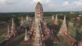 Ayutthaya Thailand  City new picture : Sky View Ayutthaya Thailand มุมสูง อยุธยา