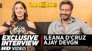 "Presenting the exclusive interview with Ajay Devgn & Ileana D'Cruz  for their upcoming Bollywood movie Baadshaho. Actress Ileana D'Cruz, says it was an ""incredibly special"" journey.""'Baadshaho' was incredibly special. The movie also features Emraan Hashmi, Vidyut Jammwal, Esha Gupta and Sanjay Mishra. Directed by Milan Luthria and co-produced by Milan and Bhushan Kumar, Baadshaho is a thriller set in the Emergency era of the 70s.The film will hit the theatres on September 1.___Enjoy & stay connected with us!► Subscribe to T-Series: http://bit.ly/TSeriesYouTube► Like us on Facebook: https://www.facebook.com/tseriesmusic► Follow us on Twitter: https://twitter.com/tseries► Follow us on Instagram: http://bit.ly/InstagramTseries"