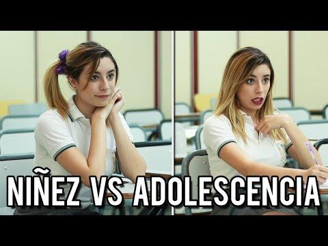 niÑos vs adolescentes en la escuela