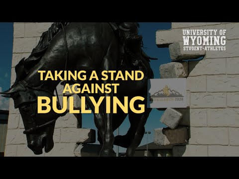 UW student athletes mtaking a stand against bullying