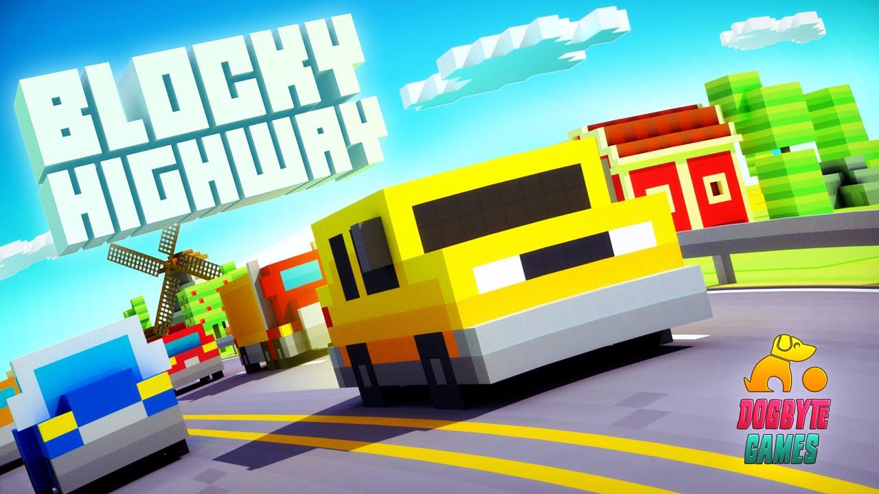 Blocky Highway Мод (много денег) » Русский Google Play - игры Android без вирусов и регистрации