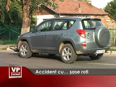 Accident cu… șase roți