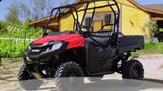2. 2014 Honda Pioneer 700-4 - Talk Tech