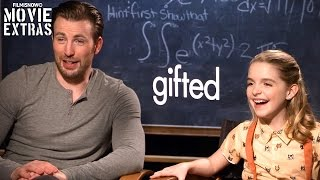 Nonton Gifted  2017  Chris Evans   Mckenna Grace Talk About Their Experience Making The Movie Film Subtitle Indonesia Streaming Movie Download