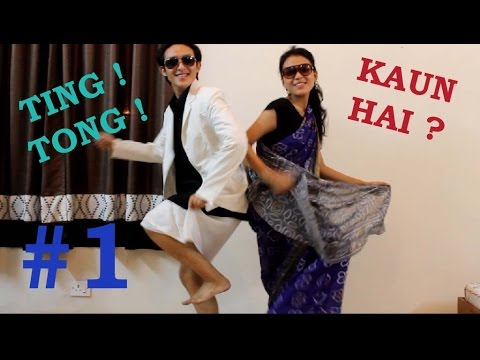 "TING TONG !, KAUN HAI ? # 1 - ""Lungi Dance"" (with Bloopers)"