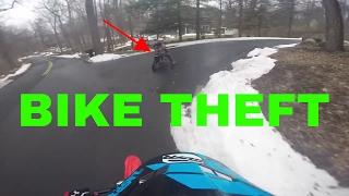 Chasing a Bike Thief
