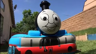 Thomas n Friends Swimming Pool, Percy, Disney Cars Fire Truck Red Lightning McQueen Sheriff