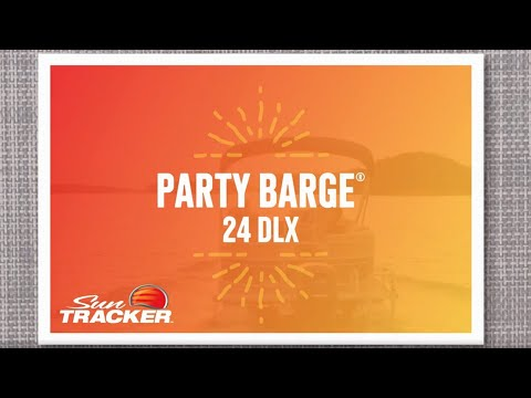 SUN TRACKER PARTY BARGE 24 DLX Recreational Pontoon