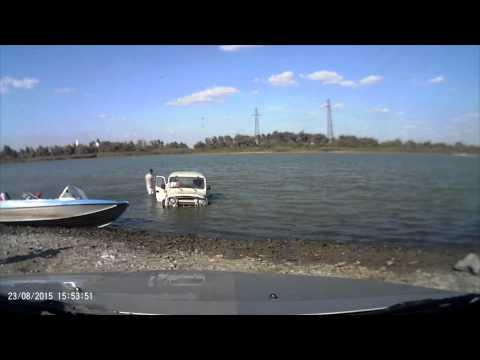 спуск лодок с берега