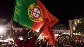 Angra Do Heroismo Portugal  City new picture : Portugal Campeão Europeu 2016 - Festejos em Angra do Heroísmo by Manuel Bettencourt TV