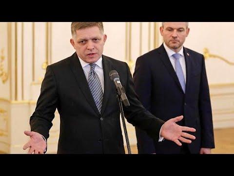 Amtswechsel in der Slowakei-Krise: Vizeregierungschef Peter Pellegrini mit Regierungsauftrag