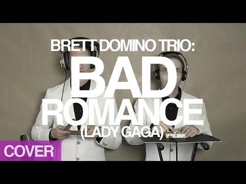 korg - Brett and Steven perform Lady Gaga's smash hit, 'Bad Romance', entirely on Korg Monotrons and Korg Kaossilators. http://www.brettdomino.com.