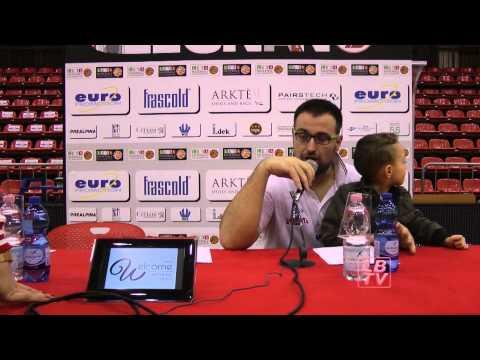 Conferenza stampa post partita Legnano - Roseto