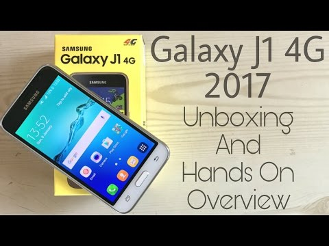 Samsung Galaxy J1 4g 2017 | Unboxing & Overview