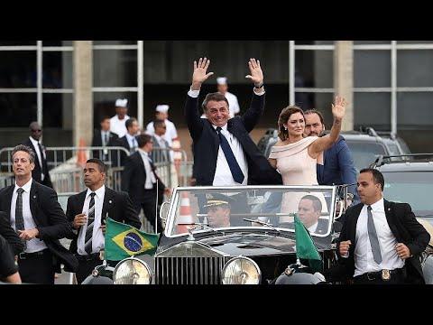 Βραζιλία: Ορκίστηκε νέος πρόεδρος ο Ζαΐχ Μπολσονάρο