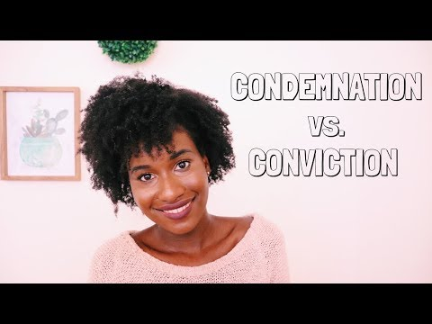 CONDEMNATION vs. CONVICTION   Knowing the Difference   Christian Topics  