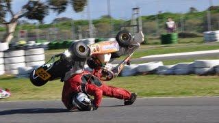 Vidéo compilation de crashs en Kart