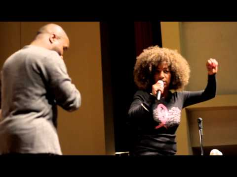 Vanessa Fraction @Morehouse  KING CHAPEL Homecoming Phat Comedy Show