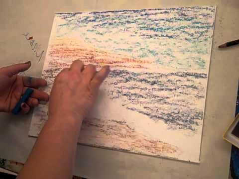 chalk landscape