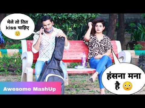 Totla (तोतला) Singing Awesome Songs & Picking Up Girl Reaction Prank - 2 | Siddharth Shankar
