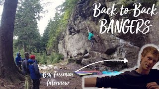 Back to Back *BOULDERING* Bangers with Ben Freeman by Dan Turner