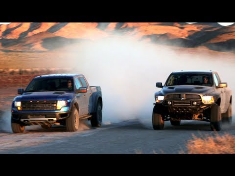ram - On this episode of Head 2 Head, Motor Trend's Mike Febbo and off-road racer Joe Bacal head to the desert to pit the Ford Raptor against the Ram Runner. Find ...