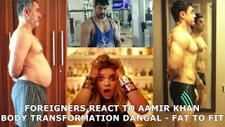 Video Foreigners React to Aamir Khan Body Transformation Dangal - Fat To Fit MP3, 3GP, MP4, WEBM, AVI, FLV Januari 2019