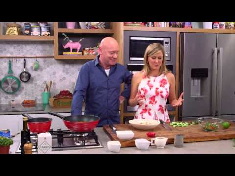 Spiced Fish Cutlet with Coconut Sauce and Cucumber Salad |S5 E67