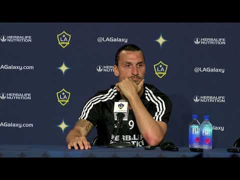 FULL PRESS CONFERENCE: Zlatan Ibrahimovic after hat trick performance in LA Galaxy win over LAFC