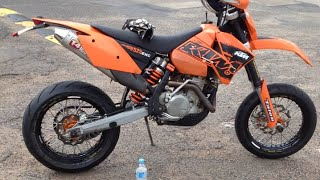 10. SuperMoto Practise Lakeside KTM 525 March 2015