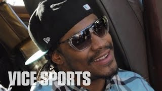Marshawn Lynch on Wearing a Grill During Games