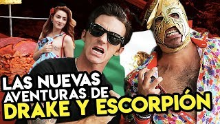 DRAKE BELL & Super Escorpión al Volante!