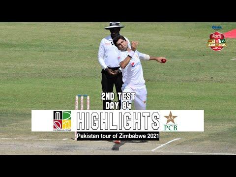 Zimbabwe vs Pakistan Highlights | 2nd Test | Day 4 | Pakistan tour of Zimbabwe 2021