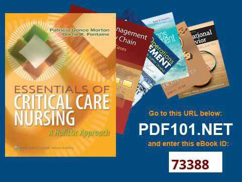 Essentials of Critical Care Nursing A Holistic Approach