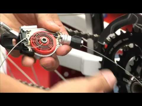 how to adjust sram x-7